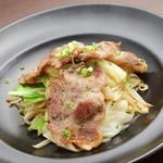 大喜屋げんちゃん - 北海道産豚肉でつくる、リピーター続出の美味しさ! 『げんちゃん豚肉焼(塩こしょう味)』