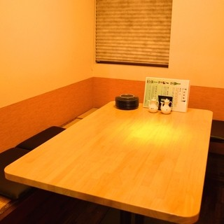 ◆最大6名様までOK!一部屋限定の個室が御座います。