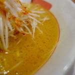 49085107 - 幸楽苑での比較で、塩梅の良いスープ