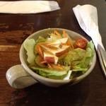 百番目のサル - セットのサラダ