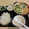 ちゃんこ定食 玉ちゃん - 料理写真:ちゃんこ定食・醤油(680円)