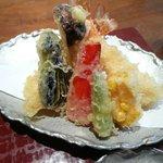 蕎麦 たかま - 天ぷら