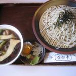 今井車 - 料理写真:鴨汁せいろ