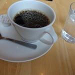 カフェモ・ルタオ - 2016/3/23(水)ハスカップパンケーキセットのコーヒー