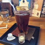 カフェ山小や - らんちのアイスコーヒー