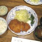 49091852 - ロースカツ定食