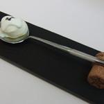 プレゼンテ スギ - 2016.3 シェフ厳選牛乳で作った濃厚ジェラートとヨーグルト