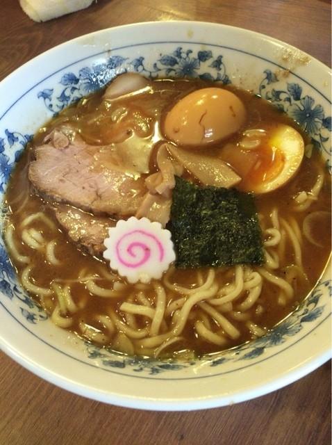 東池袋大勝軒 秋田店 - 味玉ラーメン(小)