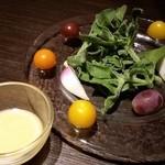 oufuuryouriyabisutora - 三浦野菜のトスカーナ風サラダ