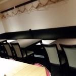 欧風料理屋ビストラ - 壁際の席