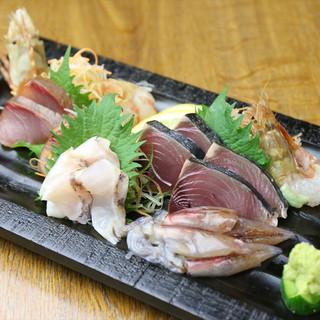 日本酒との相性抜群◎新鮮な魚料理もご用意!
