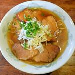 楽酔園 - チャーシュー麺