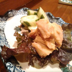 飲食処 室 - 豆腐の味噌漬け 500円