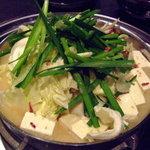 一級 - モツ鍋みそ味¥1260