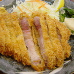 とんかつ 昇亭 - 料理写真:特ロースかつ