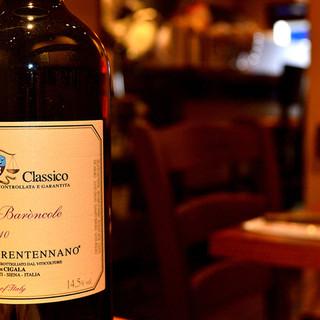 種類豊富なイタリアワイン