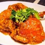 施家菜 - マングローブ蟹 シンガポール風チリ炒め