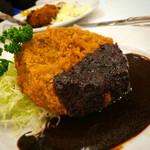 レストラン桂 - 特製メンチカツレツ1050円