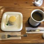 オレンチ カフェ - オレンチフロマージュとアメリカンコーヒー(1.5倍)