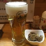 黒潮食堂 - 生ビール中500円