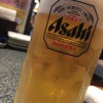 いっすんぼうし - ほろよいセットで生ビール