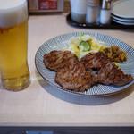 炭焼牛たん東山 - 牛たん焼き&ビール~☆