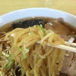 ハリス食堂 - 麺アップ
