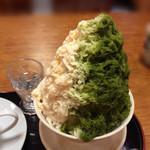 甘味処 古今茶家 - ミニ氷セット710円