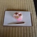 玉露の里 瓢月亭 - ちなみに2013.2に訪問した時のお菓子。