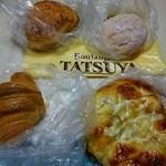 パン工房 TATSUYA - 料理写真:ジャーマンポテト、アンドーナツ、クロワッサン、味噌ネギパン