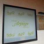 アルページュ - 看板