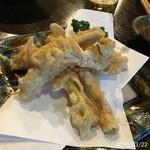 島時間 - 島らっきょうの天ぷら
