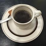 いわき - 食後のコーヒーサービスです。