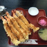 いわき - 赤字丼、1350円です。