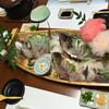 漁家民宿 洸洋庄 - 料理写真:2人前の舟盛り(≧∇≦)
