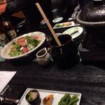 徳樹庵 - サラダ