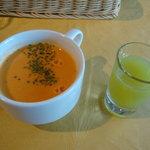 せたがやファーム - スープとジュース