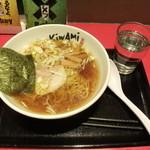 喜輪味 - 喜輪味ラーメン ¥290