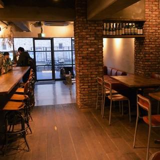 ◆お店丸ごと貸切!着席30名様まで、立食時は40名様までOK