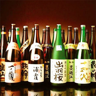 【本格焼酎】宮城の地酒~なみなみもっきりで!