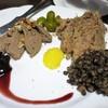 アヒルの空 - 料理写真:なめらかレバーペースト    しっとり豚のリエット
