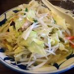 倉一廊 - 「野菜タン麺」690円也。