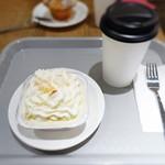 ハドソンマーケットベーカーズ - バナナクリームパイ、コーヒー