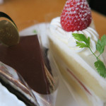 エスプリ - 料理写真:買ったケーキ
