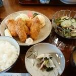 季節料理 なかはら - 「カキフライ定食」 ¥950(税込)