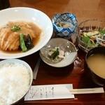 季節料理 なかはら - 「あいなめの唐揚げおろし煮定食」 ¥900(税込)
