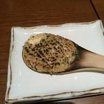 49129001 - 一口食べた蕎麦味噌
