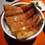 味彩 のと与 - 特上うなぎ丼(4000円)