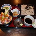 横浜田中屋 - バラちらしランチ(900円)