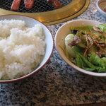 大倉山 - ランチセット(ご飯、サラダ)